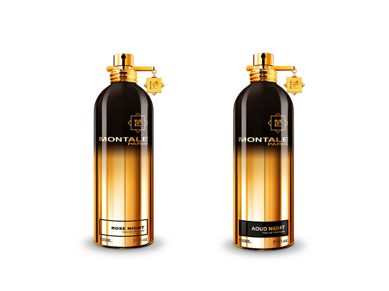 Rose Night y Aoud Night de Montale Parfums