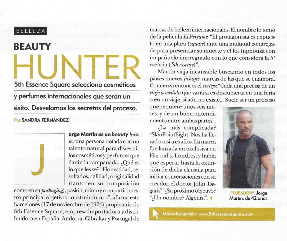 Jorge beauty hunter fuera de serie